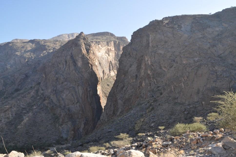 Sortie de snake canyon, des piliers qui invitent à l'escalade